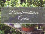 Bienenfreundlicher Garten Gartenschule pertaining to sizing 1280 X 670