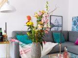 Blumen Arrangieren Wohnzimmer Couchtisch Glastisch Hausbar with measurements 1200 X 1800