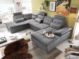 Couch Wohnlandschaft Schlaffunktion Schlafsofa Dunkelgrau Grau inside measurements 3157 X 2048
