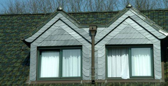 Dachgaubenfenster Gaube Mit Schieferarbeiten Dachbodenfenster Velux with sizing 1024 X 768