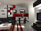 Die Farbe Rot Vorsichtig Dosiert Im Wohnraum Ein Highlight for measurements 4667 X 3485