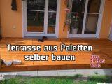 Diy Holz Terrasse Aus Paletten Selber Bauen Schritt Fr Schritt within sizing 1280 X 720