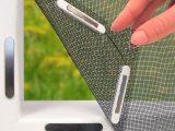 Easymaxx Moskitonetz 150x130cm Fr Fenster Mit Magnetbefestigung in proportions 1280 X 720