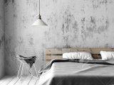 Ein Schlafzimmer Im Industriestil Mit Einem Recycelten Palettenbett in size 1300 X 650