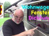 Ein Wohnwagen Fenster Seitenfenster Diy Einbauen Ausbauen Abdichten in dimensions 1280 X 720