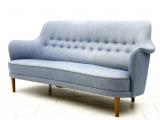 Einzigartiges Mit Stil Carl Malmsten Sofa Hellblau 60er Jahre Bei with proportions 1115 X 908