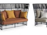 Elegante Outdoor Sofa Mit Eingewebten Hoher Rckenlehne Idfdesign throughout size 1200 X 665