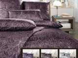 Estella Satin Bettwsche 200×200 200×220 Oder 240×220 In Graphit intended for dimensions 1984 X 2233