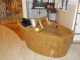 Exklusive Holzbadmbel Vom Bootsbau Profi Holz Badewanne with regard to dimensions 980 X 850