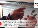 Faac Elektronische Funkmotoren Er Elektrischer Anschluss Und for dimensions 1920 X 1080