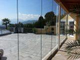 Faltschiebetr Glas Zum Verglasen Von Terrassen Und Balkonen intended for sizing 1024 X 768