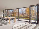 Faltwand Und Falttren Aus Glas Aluminium Und Holz inside proportions 1280 X 800