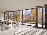 Faltwand Und Falttren Aus Glas Aluminium Und Holz within proportions 1280 X 800