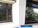 Fenster Mit Silberfolie Vorhernachher Baumann Sicherheitsfolien inside dimensions 2064 X 774