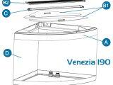 Fluval Venezia 190 Led Lichtbalken Set H A13284 for dimensions 1000 X 1000
