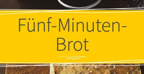 Fnf Minuten Brot Rezept Ruhte Weizen Und Dinkel intended for dimensions 590 X 1475