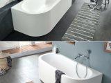 Freistehende Badewanne Ecke Zwei Modelle Mit Wandanschluss Einmal A with regard to sizing 1244 X 1500