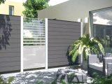 Gallery Of Sichtschutz Grau Wpc Kreatif Von Zu Hause Design Ideen inside proportions 2000 X 1125