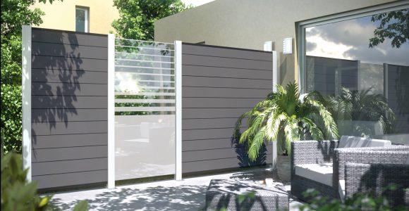 Gallery Of Sichtschutz Grau Wpc Kreatif Von Zu Hause Design Ideen intended for sizing 2000 X 1125