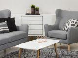 Garnitur Kamma Retro 3 Sitzer Sofa Sessel Stoff Hellgrau regarding dimensions 1500 X 844