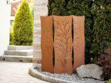 Garten Im Quadrat Garten Paravent Als Sichtschutz Rost Optik throughout size 1349 X 899