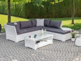 Garten Lounge Montecarlo Weiss Grau Gnstig Kaufen Lehner Versand with proportions 1800 X 1350