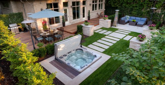 whirlpool gartenhaus good jacuzzi love the seating area around the jacuzzi ideen frs zimmer. Black Bedroom Furniture Sets. Home Design Ideas