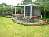 Gartenbau Landschaftsbau Esens Freisitz Mit Teich Jever Wittmund throughout size 1920 X 1280