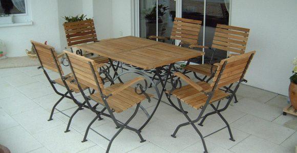 Gartenmbel Set 5 Teilig Schlogarten Teakholz Metall Klappbar intended for size 1280 X 960