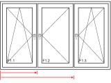 Gealan Synergic Fenster 3 Teilig Dk Fib Dk Fensterprofi24de in dimensions 1082 X 795
