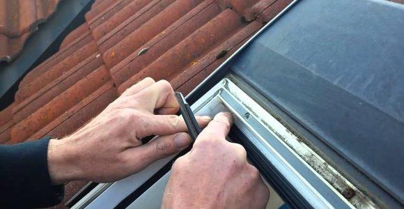 Glas Scheiben Auflage Dichtung Bei Braas Kunststoff Dachfenster with size 1280 X 720