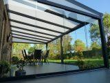 Glasschiebetren Fr Ihre Terrassenberdachung regarding dimensions 1500 X 1125