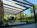 Glasschiebetren Fr Ihre Terrassenberdachung with measurements 1500 X 1125