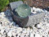 Granit Springbrunnen Sb15 Mit Drehender Glaskugel Und Led Beleuchtung pertaining to measurements 1000 X 1000