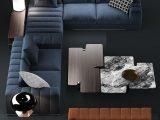 Groartig Leder Modern Ecksofa Grafitschwarz Couchtisch Wohnzimmer regarding dimensions 1080 X 1102