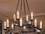 Groer Geschmiedeter Kerzen Leuchter Mit Strahlern Nach Unten Casa with sizing 1200 X 1200