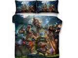 Grohandel 3d Game League Of Legends Printed Bettwsche Sets inside proportions 1000 X 1000