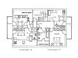 Grundriss Der Ferienwohnungen in measurements 1149 X 832