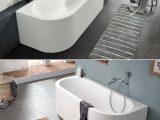 Halb Freistehende Badewanne Schne 29 Eckige Badewanne Haus Plne with proportions 1029 X 1240