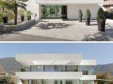 Haus Auen Farben 11 Modernen Weien Huser Aus Der Ganzen Welt within proportions 800 X 1078