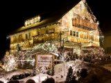 Haus Weihnachten Beleuchtung Schnee throughout size 1069 X 900
