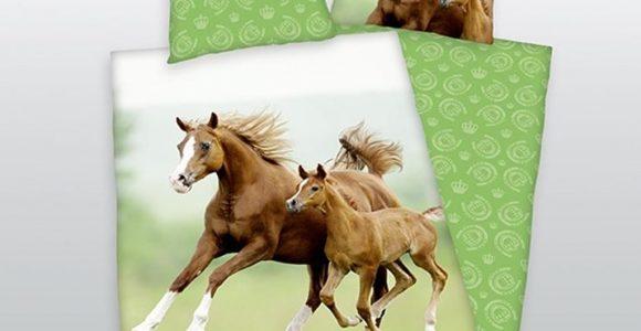 Herding Bettwsche Pferd Mit Fohlen 135 X 200 Cm Real pertaining to measurements 1024 X 1024