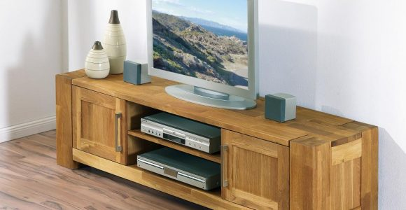 Hifi Schrank Tv Schrank Massives Eichenholz In Modernem inside proportions 960 X 960