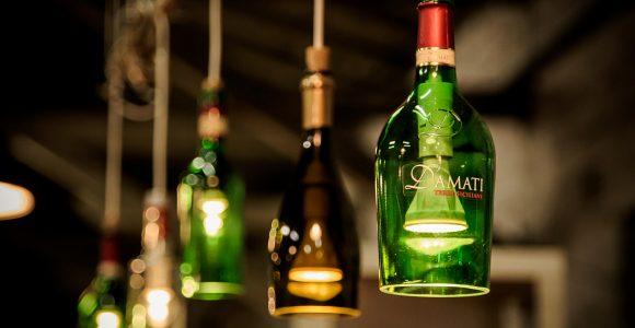 Hngelampen Handgefertigte Lampen Aus Flaschen Ein pertaining to dimensions 2000 X 1500