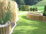 Holzpalisaden Sichtschutz Neuschwander Ag Garten Und Bau Gunstig throughout measurements 2033 X 1211