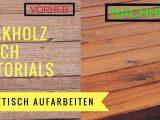 Holztisch Aufarbeiten Teakholz Tisch Garten Und Freizeitde in measurements 1280 X 720
