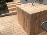 Ibc Container Verkleidung Wassertank Lrchenholz Garten in proportions 3024 X 4032