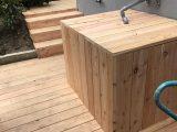Ibc Container Verkleidung Wassertank Lrchenholz Garten with proportions 3024 X 4032