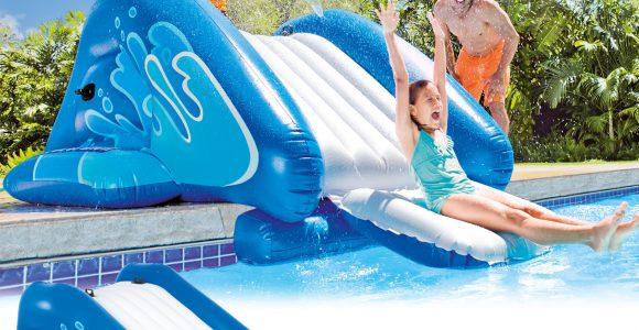 Intex Wasserrutsche Fr Pool Mit Rutsche Kinder Planschbecken pertaining to measurements 1500 X 1500