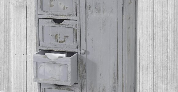 Kommode Schrank 82x55x30cm Shab Look Vintage Grau for proportions 1800 X 1800
